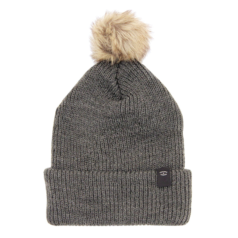 Faux Fur Pom Pom Toque - Province of Canada