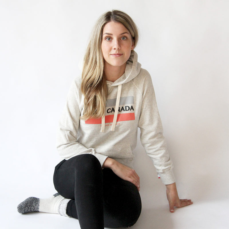 Province of Canada - Made in Canada - Club Canada Hoodie Eggshell - Unisex