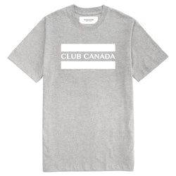 Club Canada Tee Heather Grey - Unisex