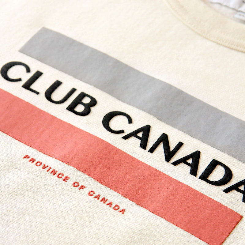 Province of Canada - Made in Canada - Club Canada Crewneck Cream