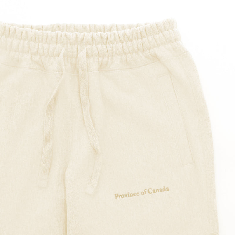 Province of Canada - Cross Grain Sweatpants Natural - Made in Canada