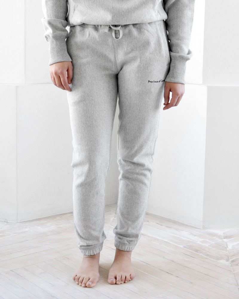 Province of Canada - Cross Grain Sweatpants Heather Grey - Made in Canada