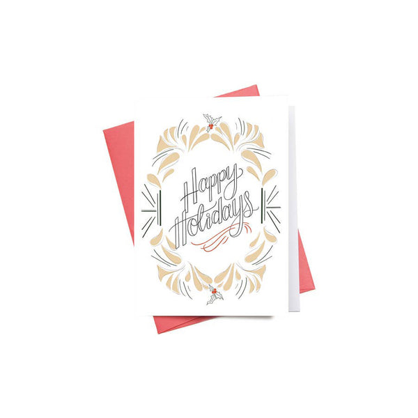Happy Holiday Greeting Card - Made in Canada - Province of Canada