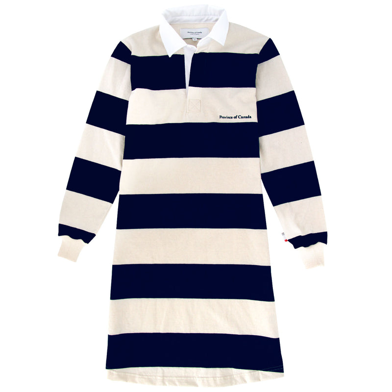 Elgin Navy/Cream Rugby Dress - Province of Canada