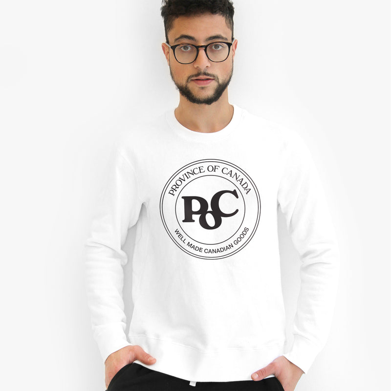 Province of Canada - Made in Canada - Emblem Crewneck