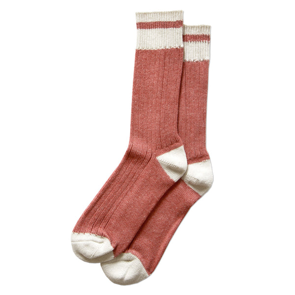 Province Canada - Made in Canada - Faded Red Cotton Sock