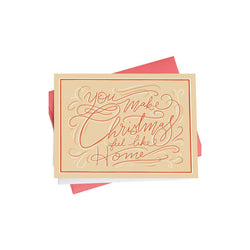 Holiday Greeting Card - Made in Canada - Province of Canada