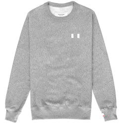 Province of Canada - Flag Fleece Sweater Heather Grey - Made in Canada