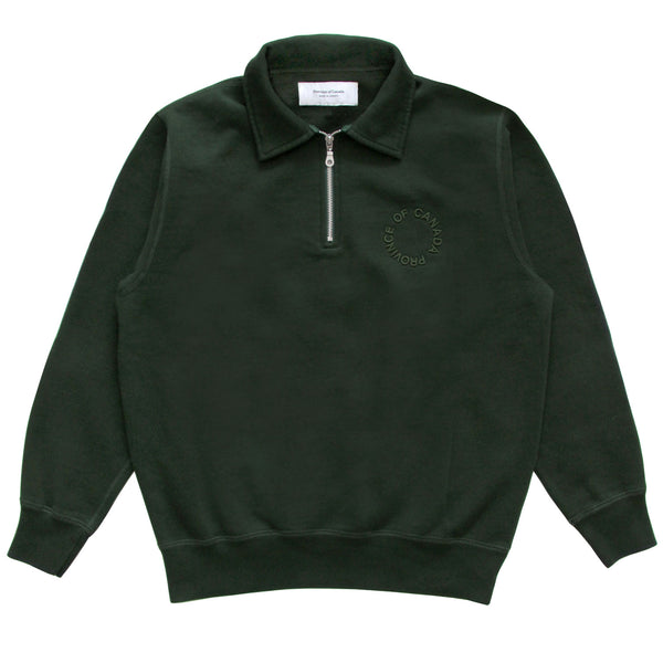 Province of Canada - Half Zip Sweatshirt - Made in Canada