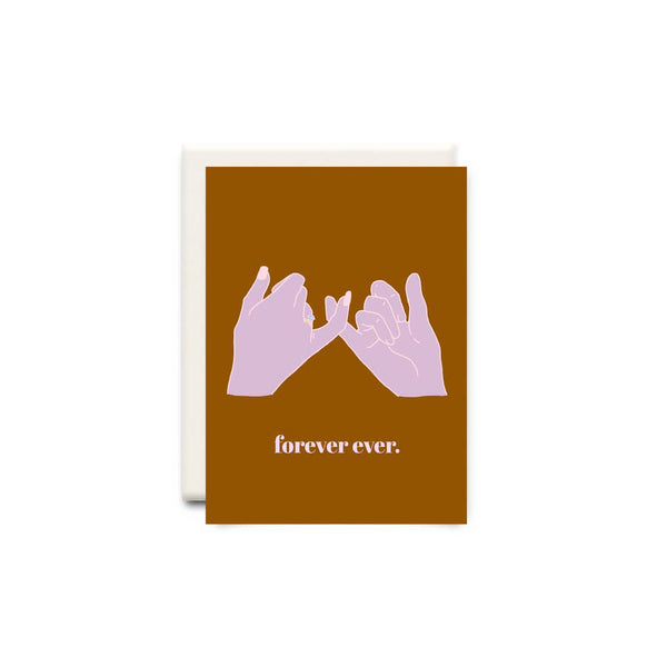 Forever Ever Birthday Greeting Card - Made in Canada - Province of Canada