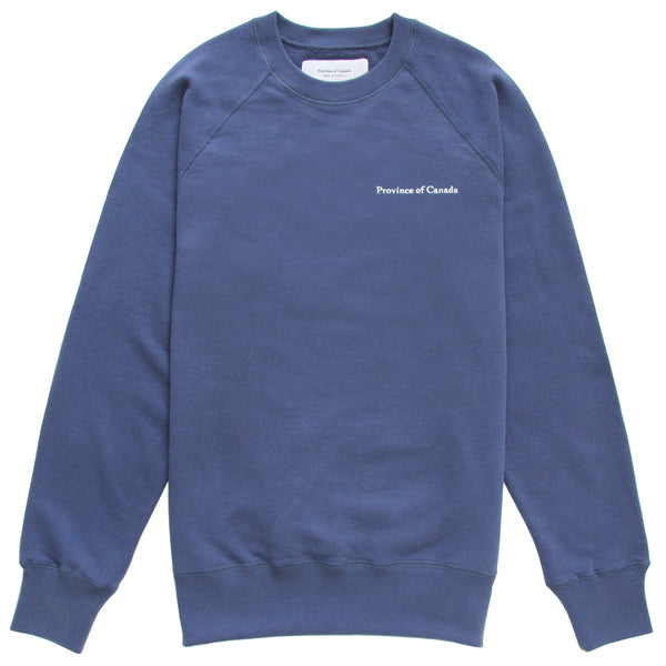 French Terry Sweatshirt French Blue - Unisex