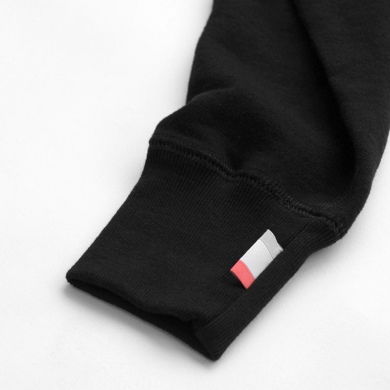 French Terry Sweater Black - Unisex - Province of Canada