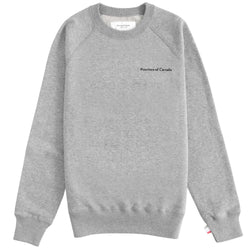 French Terry Sweater Heather Grey - Unisex