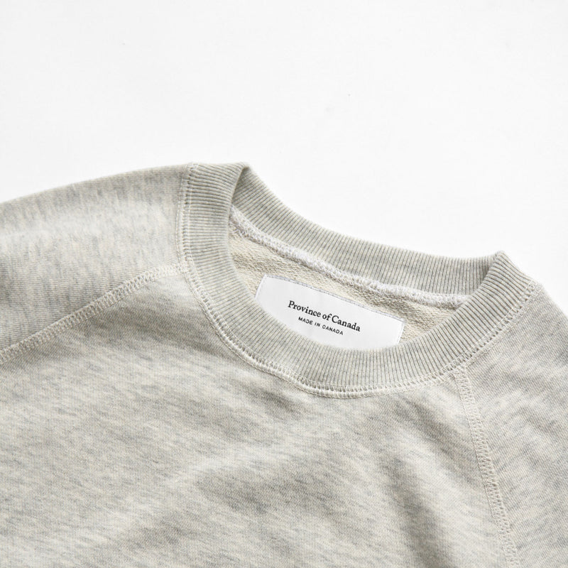 French Terry Sweater Eggshell - Unisex - Province of Canada