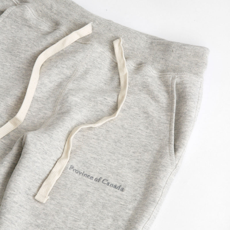 Skinny French Terry Sweatpant Eggshell - Unisex