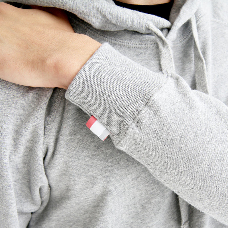 Logo Embroidered Hoodie Heather Grey - Unisex