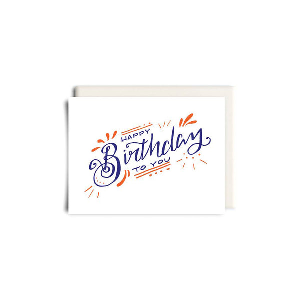 Birthday Greeting Card - Made in Canada - Province of Canada