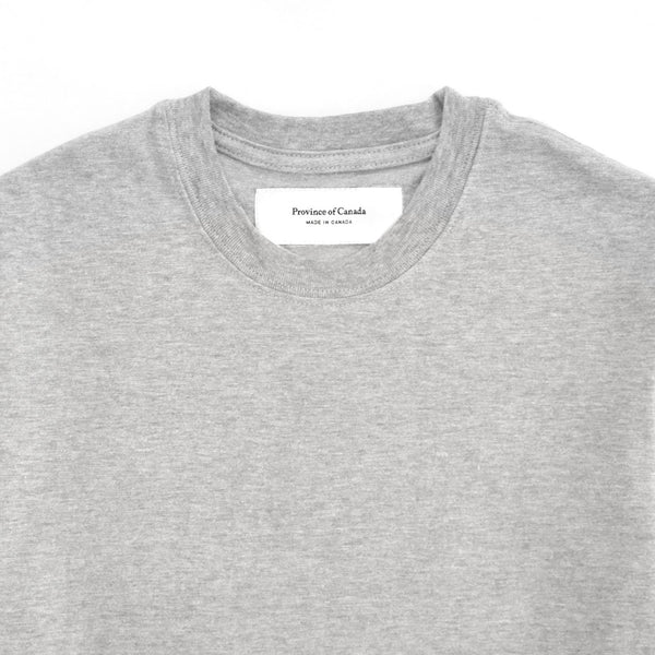 Monday Tee Heather Grey - Province of Canada