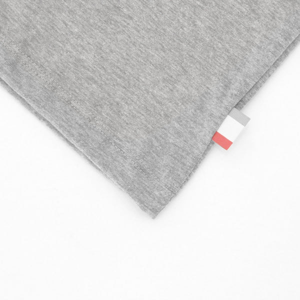 Monday Tee Heather Grey - Unisex - Made in Canada - Province of Canada