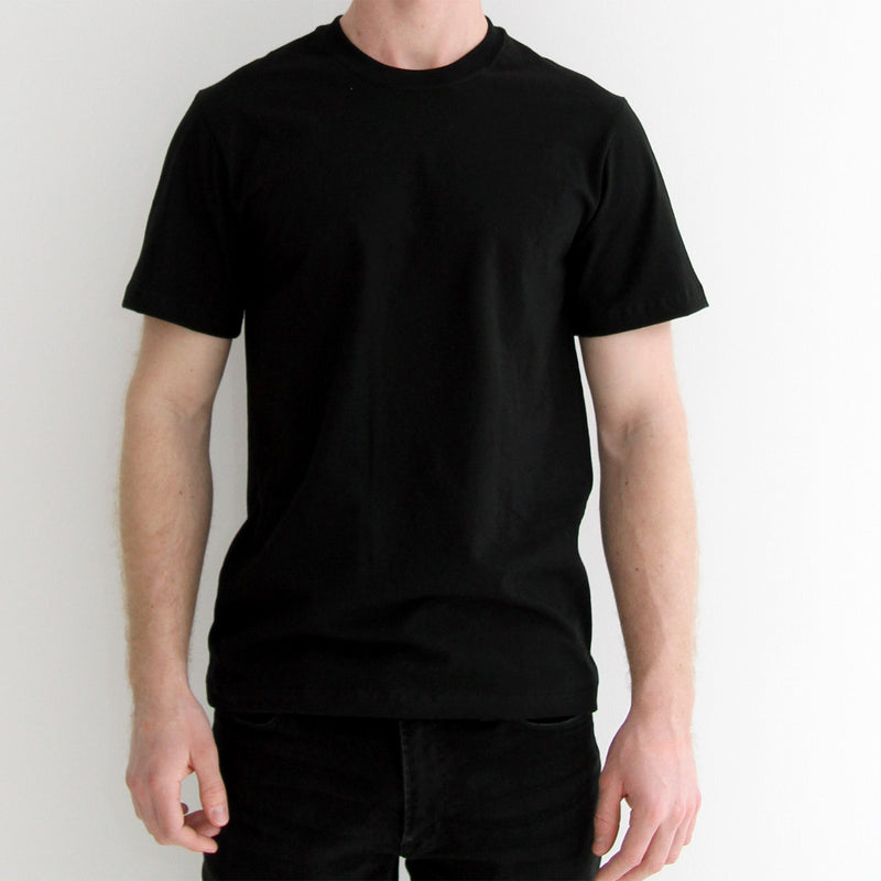 Monday Tee Black - Unisex - Made in Canada - Province of Canada