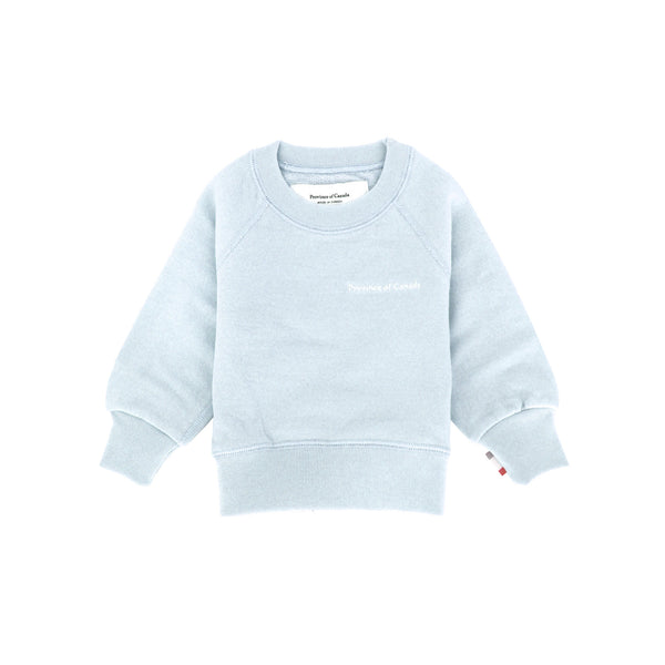 Kids French Terry Sweatshirt Pool - Unisex - Made in Canada - Province of Canada