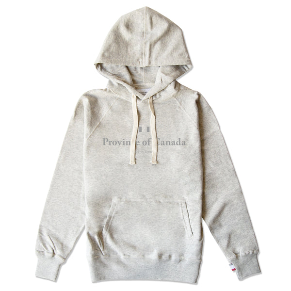 Knockout Logo Hoodie Eggshell - Unisex - Province of Canada
