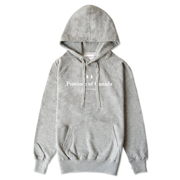 Knockout Logo Hoodie Heather Grey - Unisex - Province of Canada