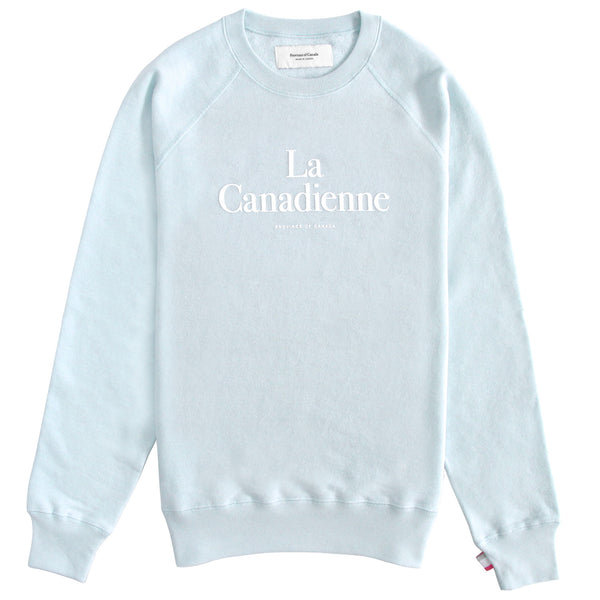 La Canadienne Crewneck Sweater Pool - Women's - province of canada