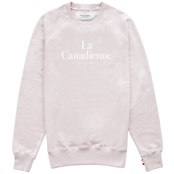 La Canadienne Crewneck Sweater Champagne - Womens