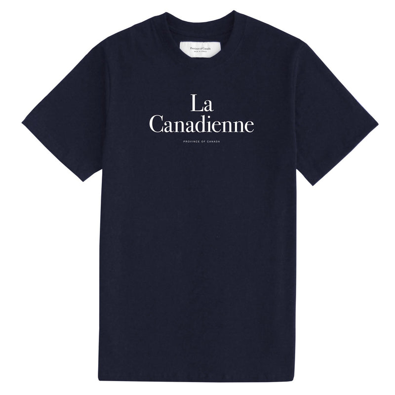 La Canadienne Navy Tee - Womens - Province of Canada