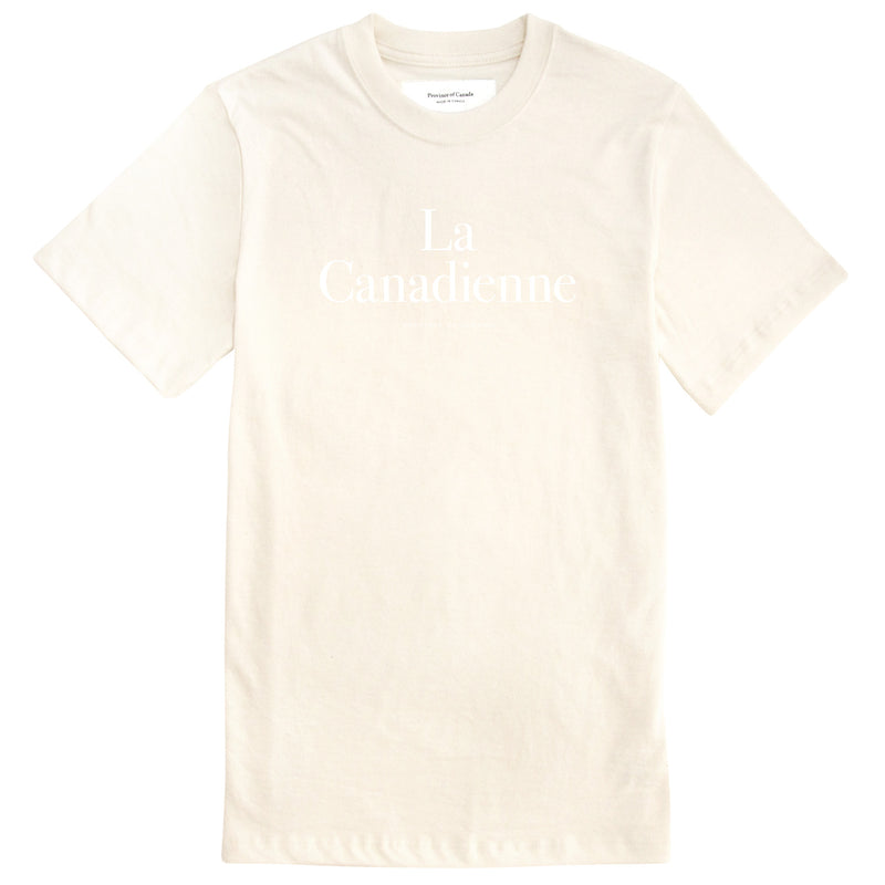 La Canadienne Tee Natural - Womens