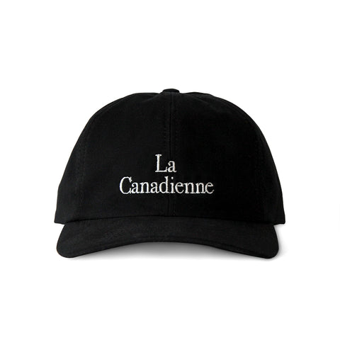 La Canadienne Baseball Hat Black - Made in Canada