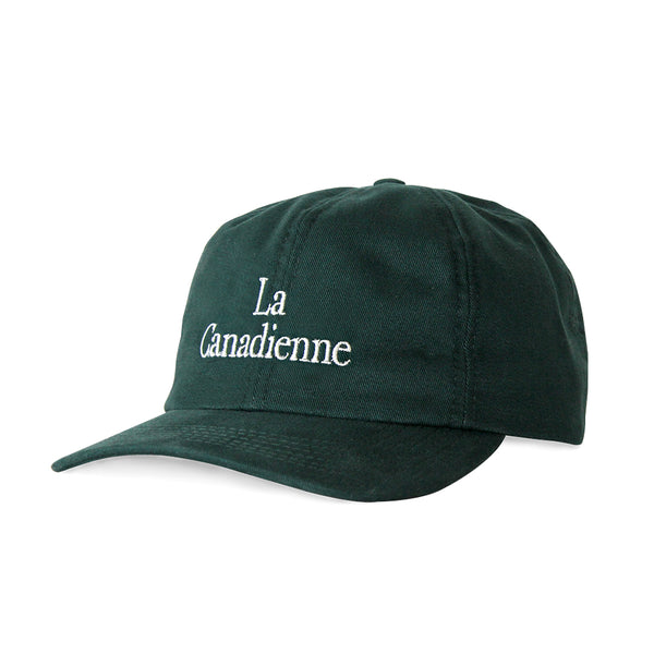 La Canadienne Baseball Hat Forest Green - Made in Canada by Province of Canada