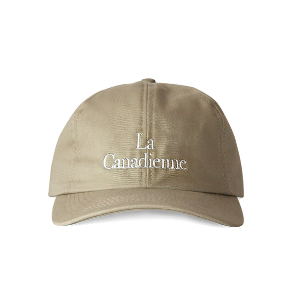 La Canadienne Baseball Hat Khaki - Made in Canada by Province of Canada
