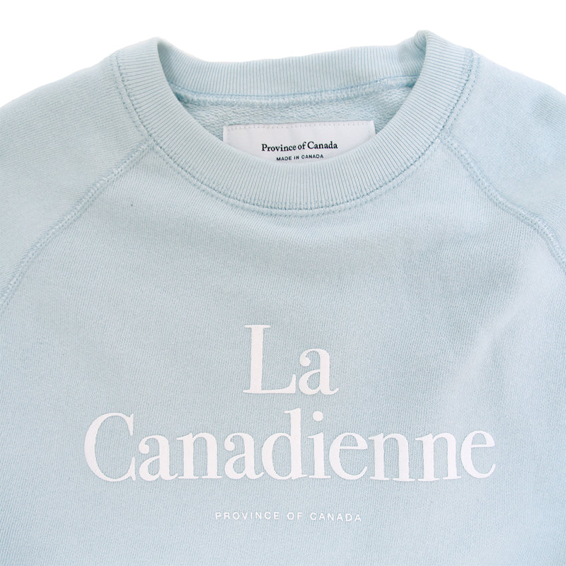 La Canadienne Crewneck Sweater Pool - Womens - Province of Canada