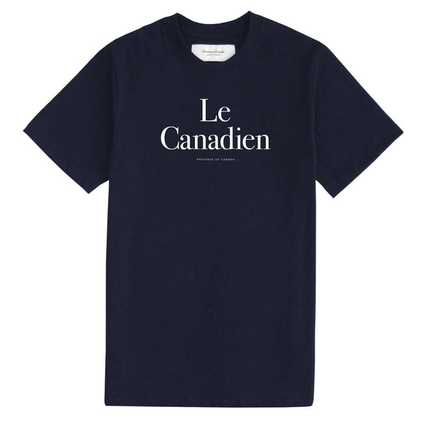 Le Canadien Navy Tee - Mens - Province of Canada
