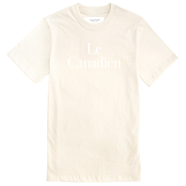 Le Canadien Tee Natural - Mens