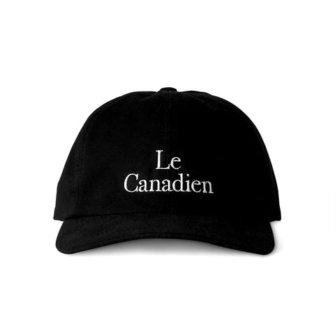 Le Canadien Baseball Hat Black - Made in Canada by Province of Canada