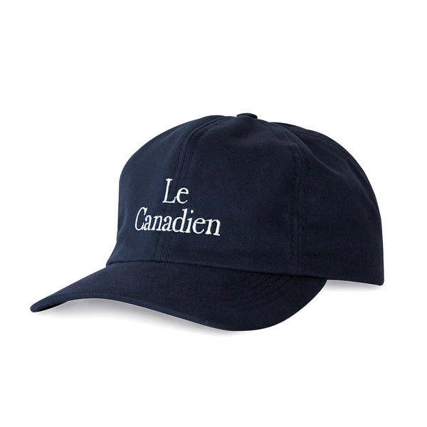 Le Canadien Baseball Hat Navy - Made in Canada by Province of Canada