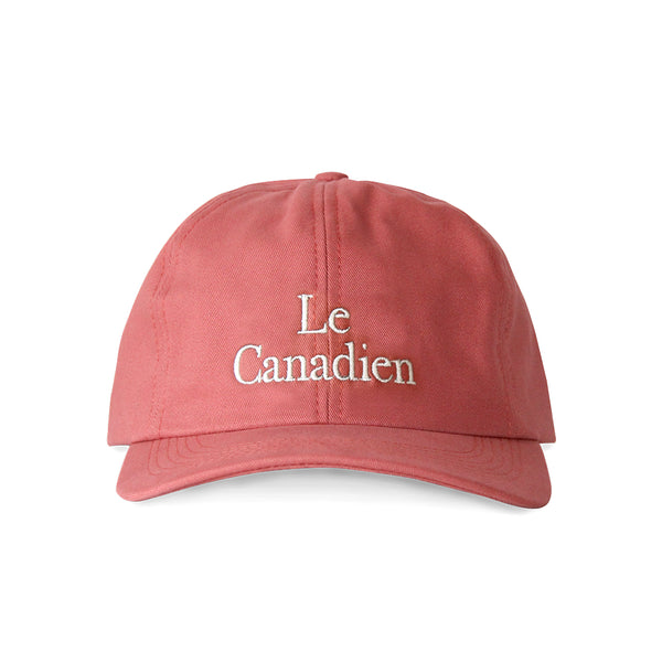 Le Canadien Baseball Hat Faded Red - Made in Canada by Province of Canada