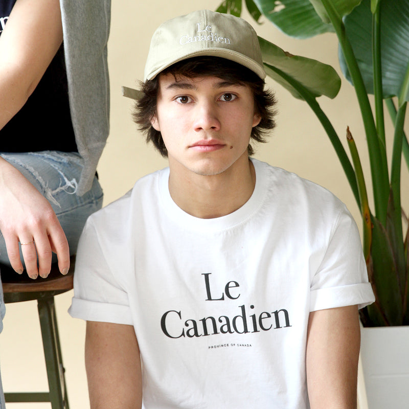 Le Canadien White Tee - Mens