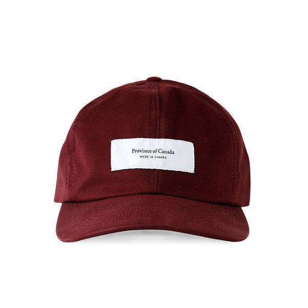 Logo Baseball Hat Garnet - Made in Canada - Province of Canada