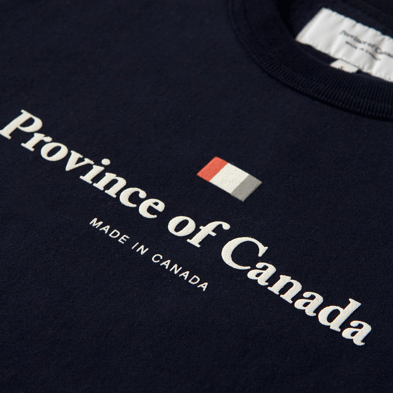 Province of Canada - Made in Canada - Logo Crewneck Navy