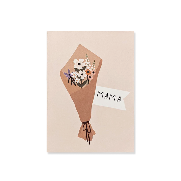Mama Bouquet Greeting Card