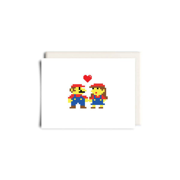 Mario Love Greeting Card - Made in Canada - Province of Canada