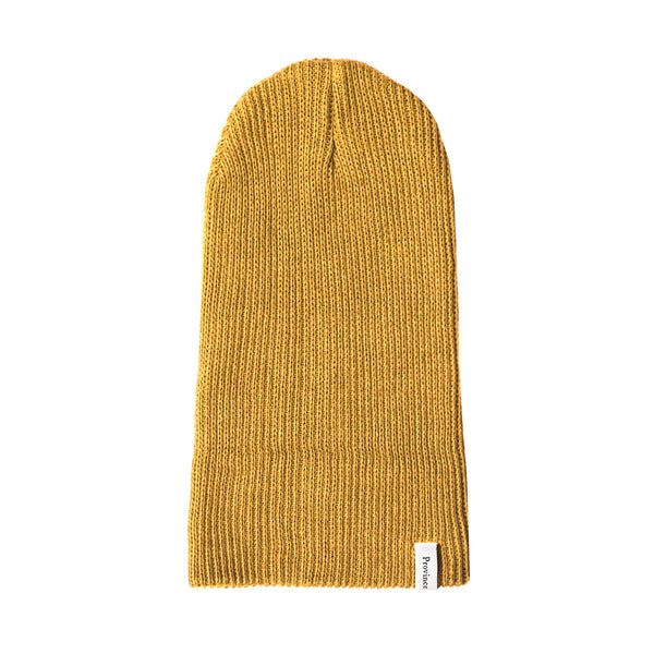 Ribbed Cotton Toque Mustard - Made in Canada