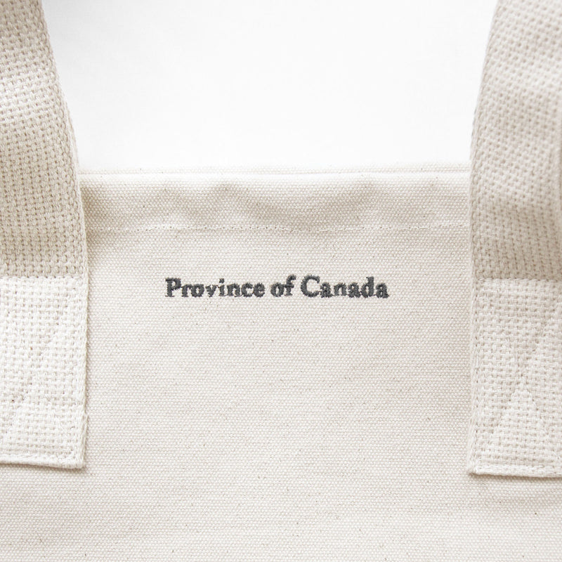Large Tote Bag Natural - Made in Canada - Province of Canada