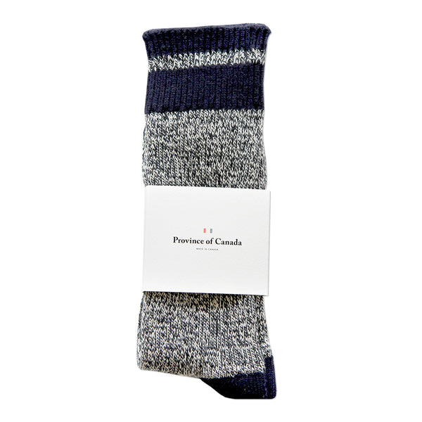 Navy Stripe Sock