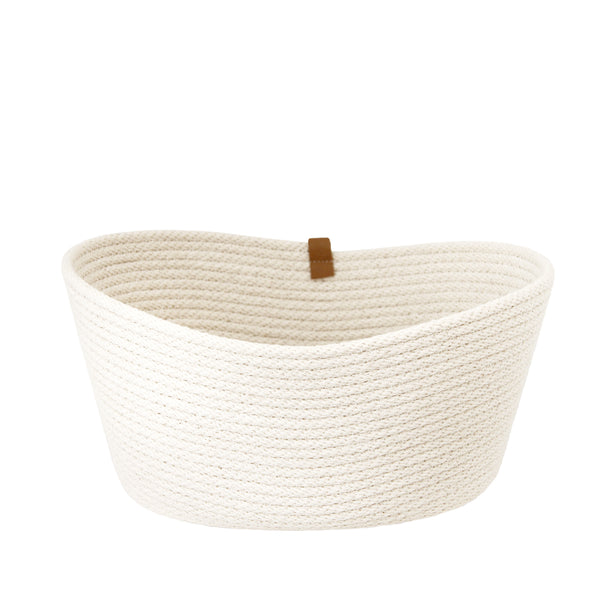 Oblong Basket Natural 12 x 9 x 6""