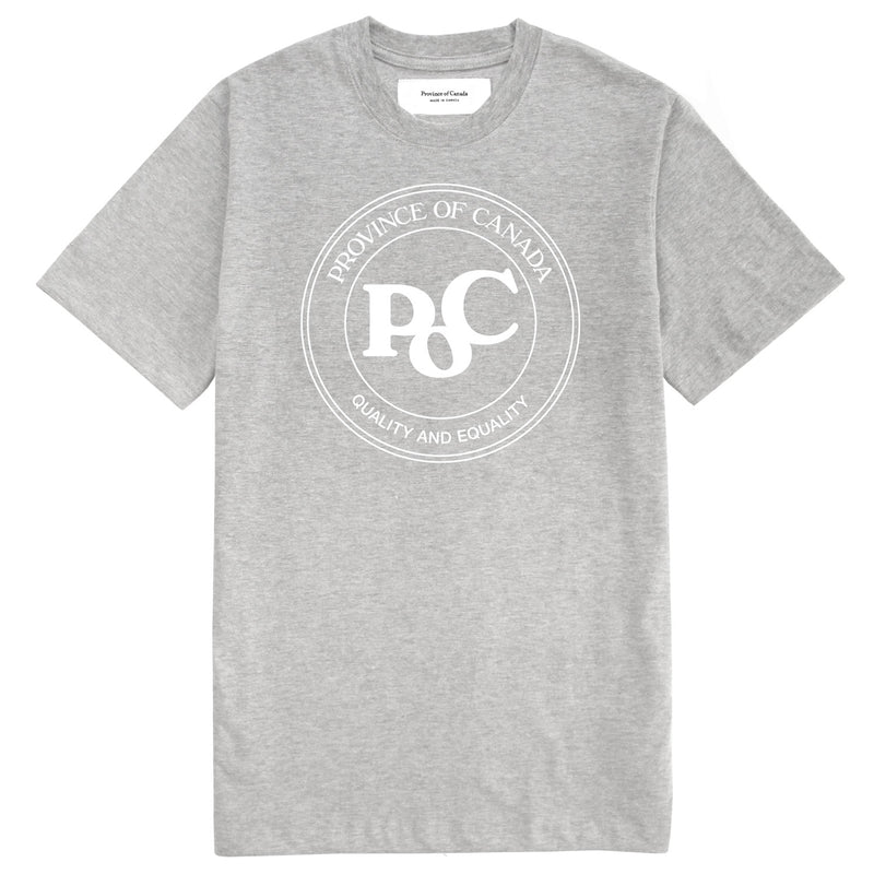 PoC Tee Heather Grey - Unisex